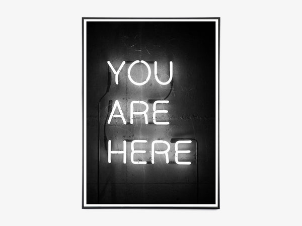 You Are Here, Neon fra Moodings