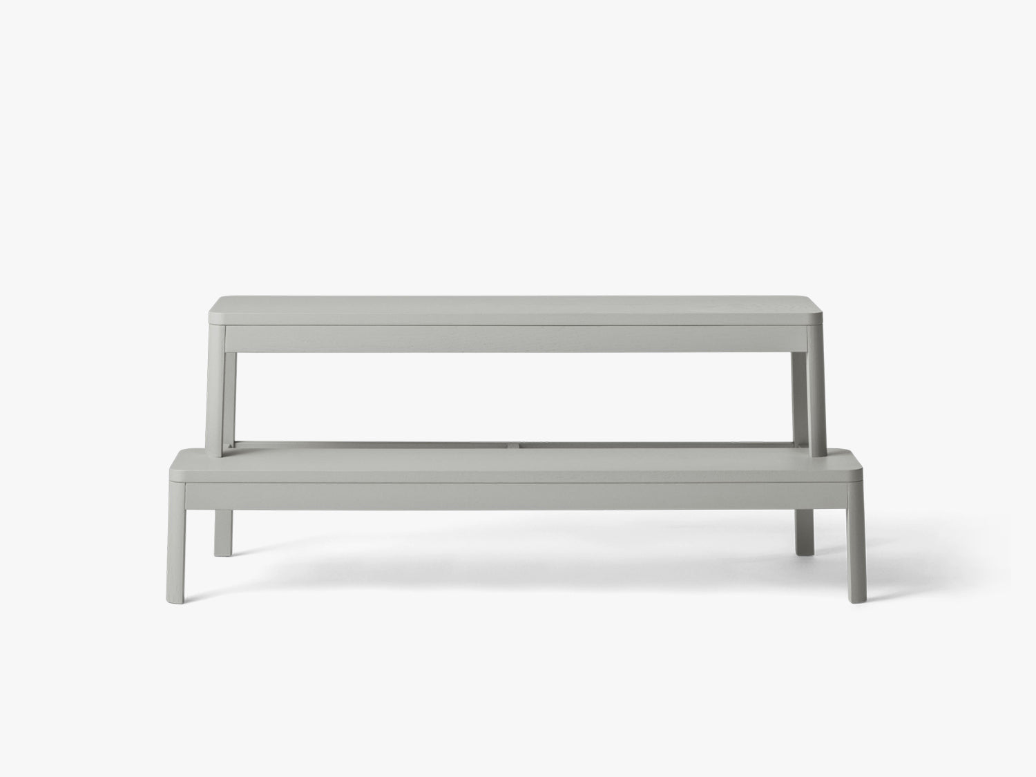 Arise Bench, Light Grey Oak fra MILLION