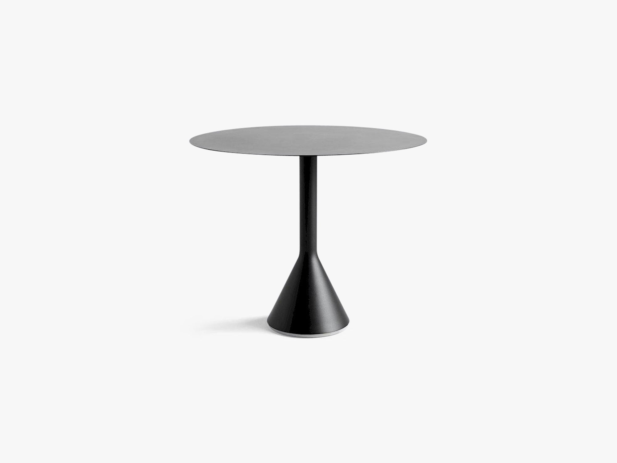 Palissade Cone Table - Round Large, Anthracite fra HAY