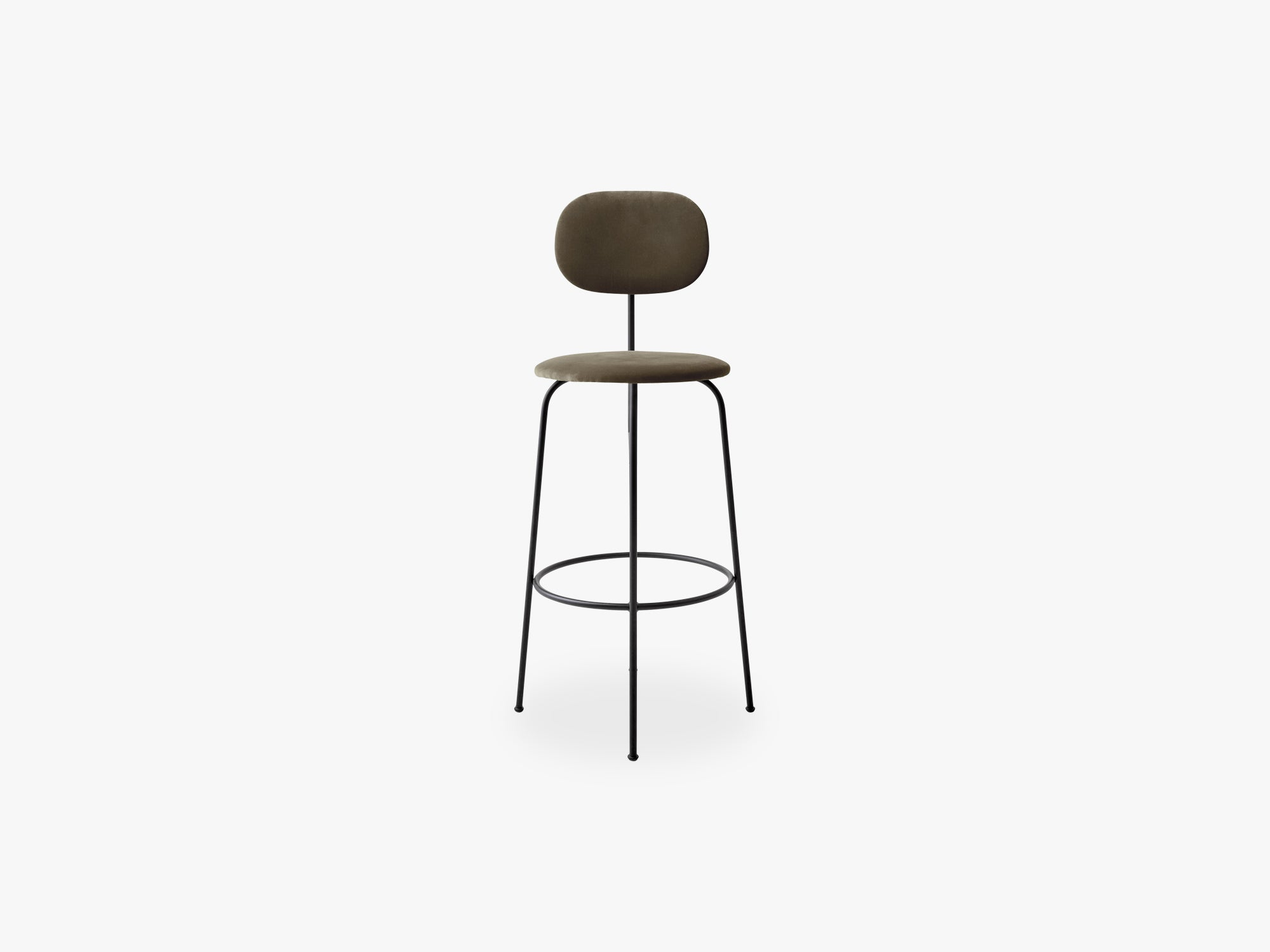 Afteroom Bar Chair Plus, Black/City Velvet CA7832/078 fra Menu