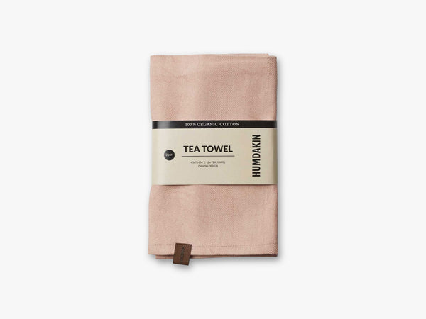 Organic Tea Towels, Clay fra HUMDAKIN