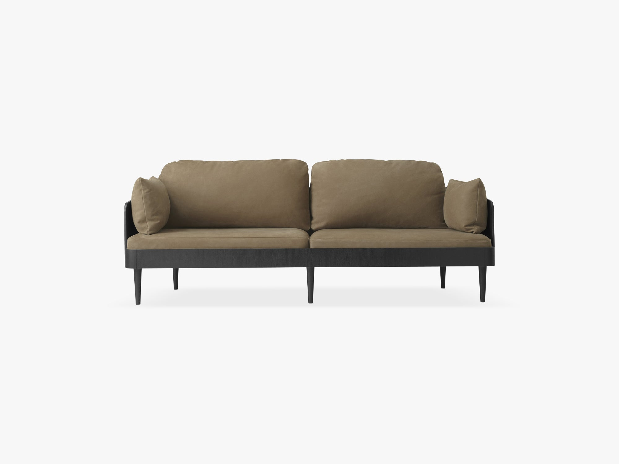 Septembre Sofa, Royal Nubuck, Ecru 30253 fra Menu