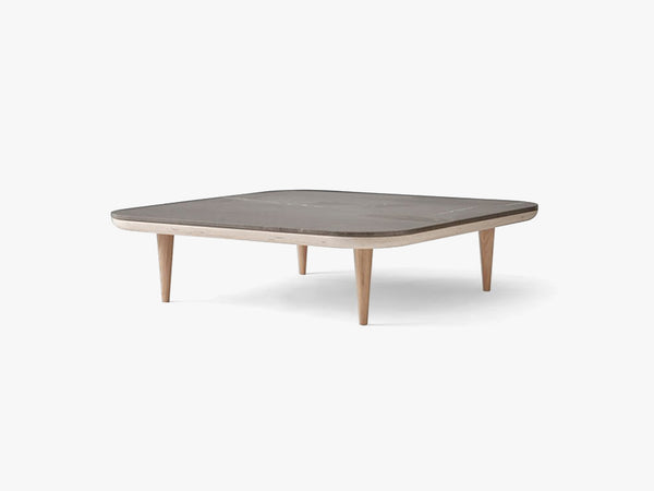 Fly table SC11 - White/Smoked - Pietra de Fossena fra &tradition