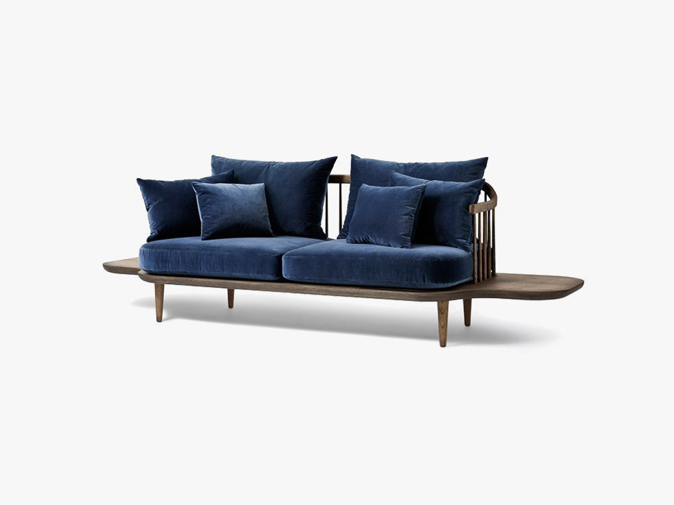Fly Sofa w side tables - SC3 - Smoked/Harald 2 182 fra &tradition