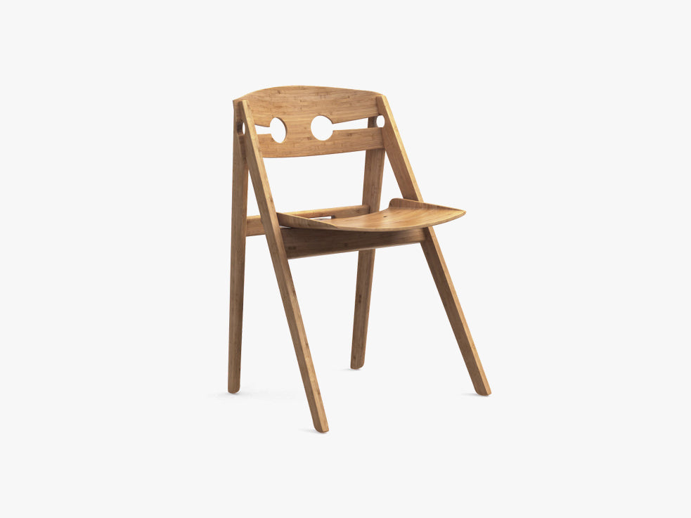Dining Chair no 1, Bamboo fra We Do Wood