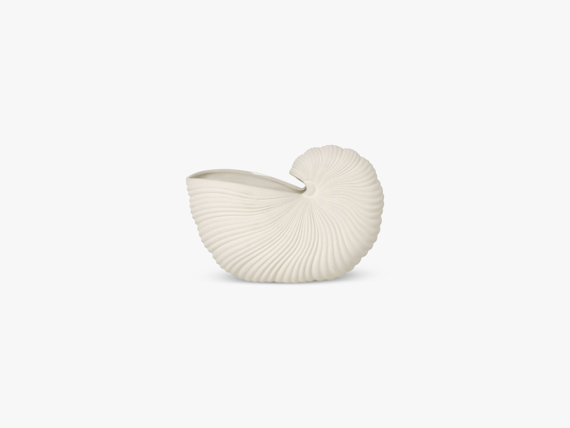 Shell Pot, Off White fra Ferm Living