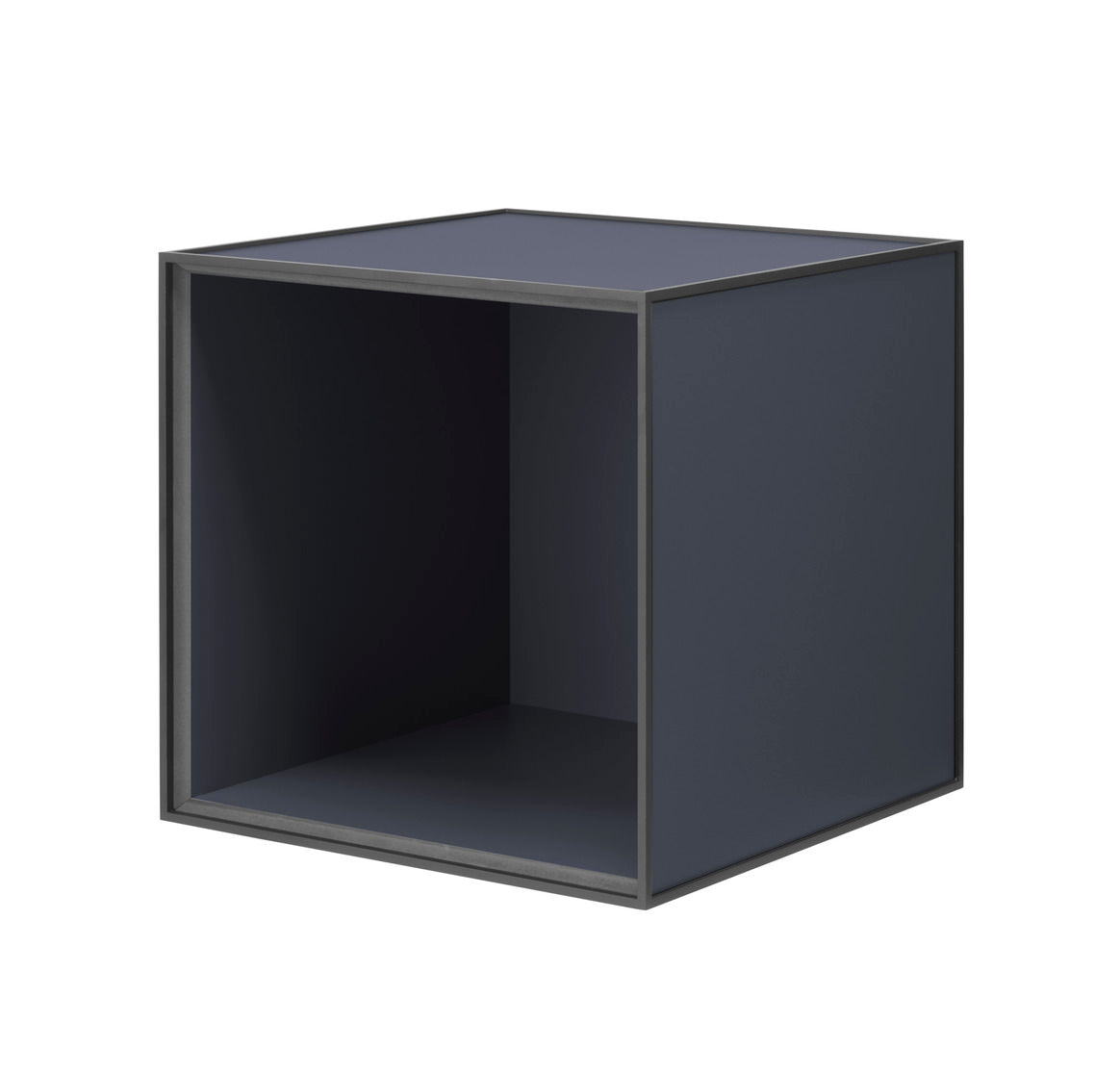 Frame 35 INCL door, 35x35x35, dark blue fra By Lassen