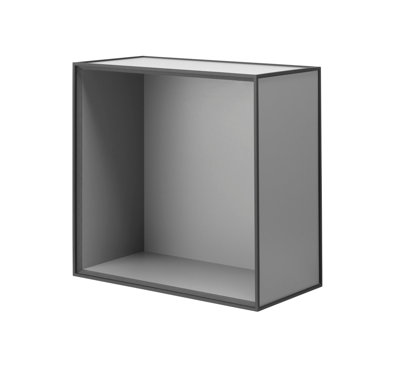 Frame 42 INCL door, 21x42x42, dark grey fra By Lassen
