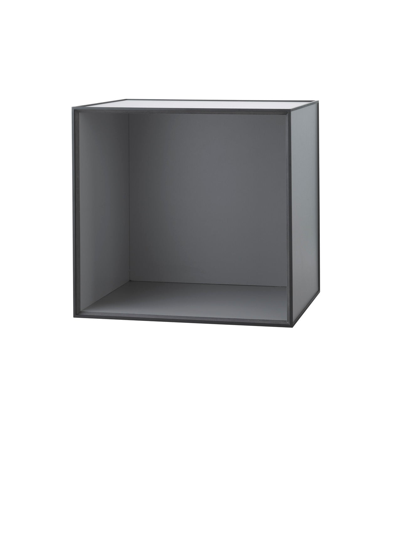 Frame 49 INCL door and shelf, 42x49x49, dark grey fra By Lassen