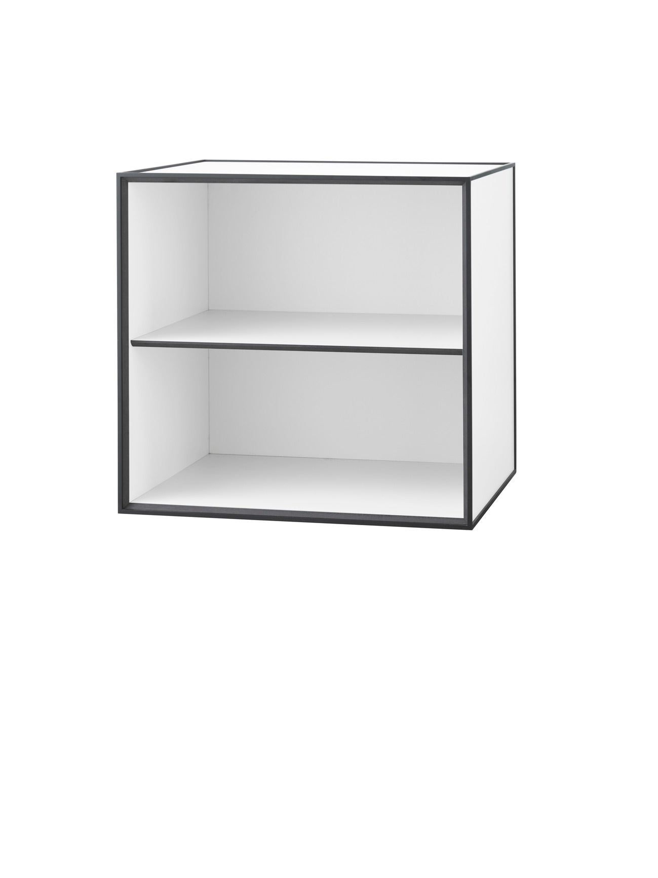 Frame 49 INCL door and shelf, 42x49x49, white fra By Lassen