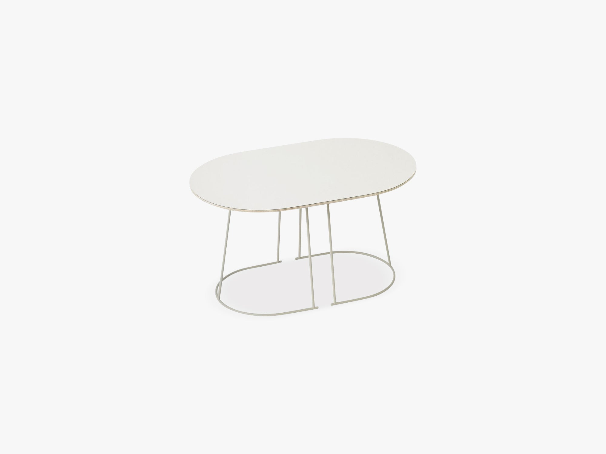 Airy Coffee Table - Small, Off-white - Nanolaminate fra Muuto