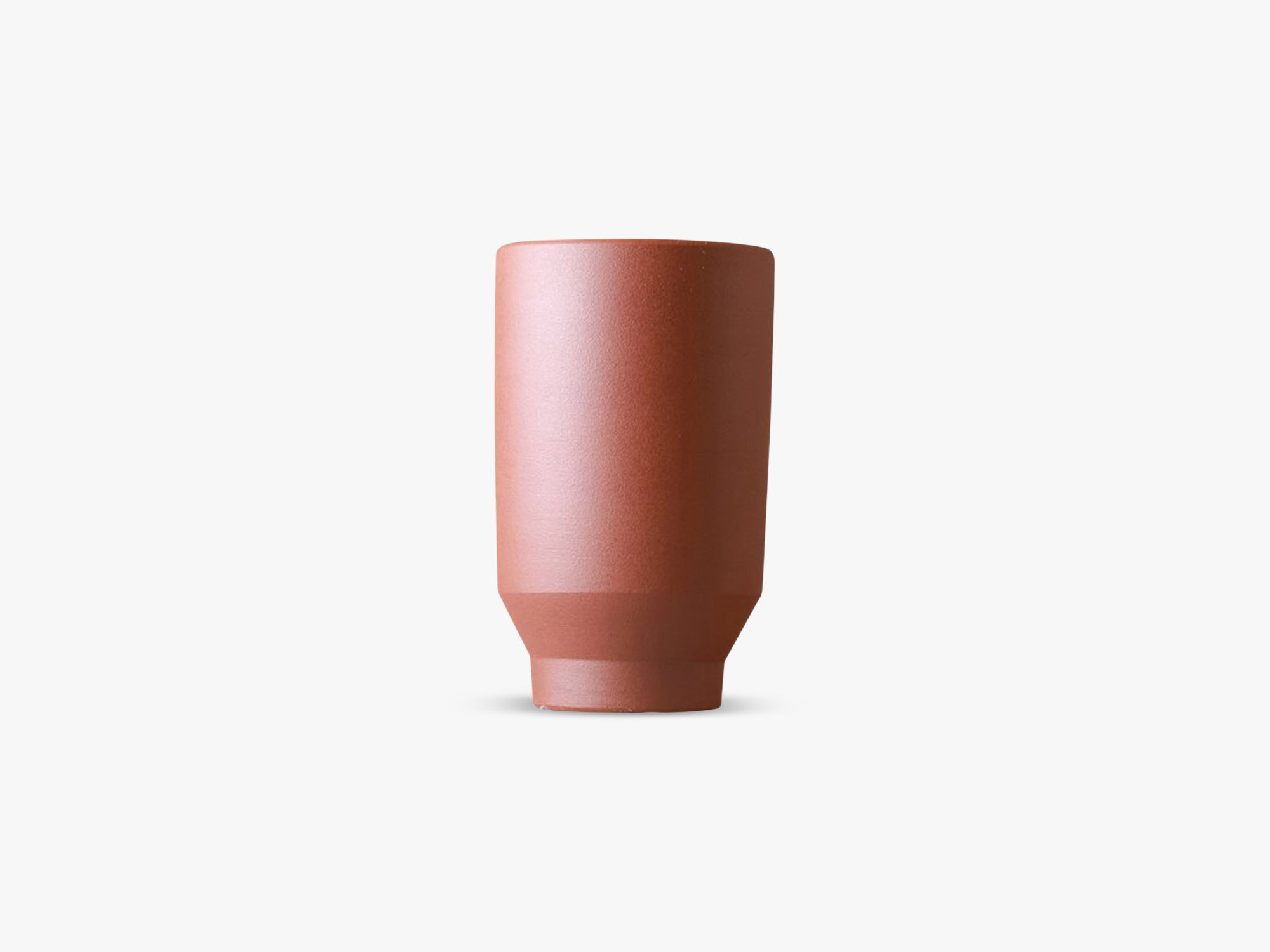 Boyhood Ceramic Pot - Cylinder, High Risk Red fra Specktrum