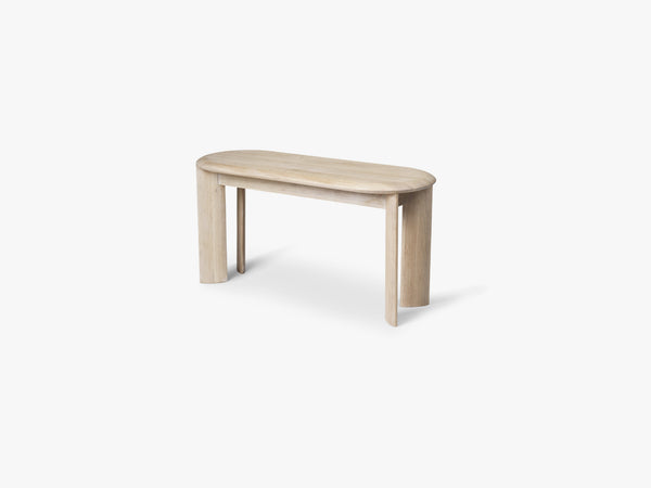 Bevel Bench - White Oiled Oak fra Ferm Living