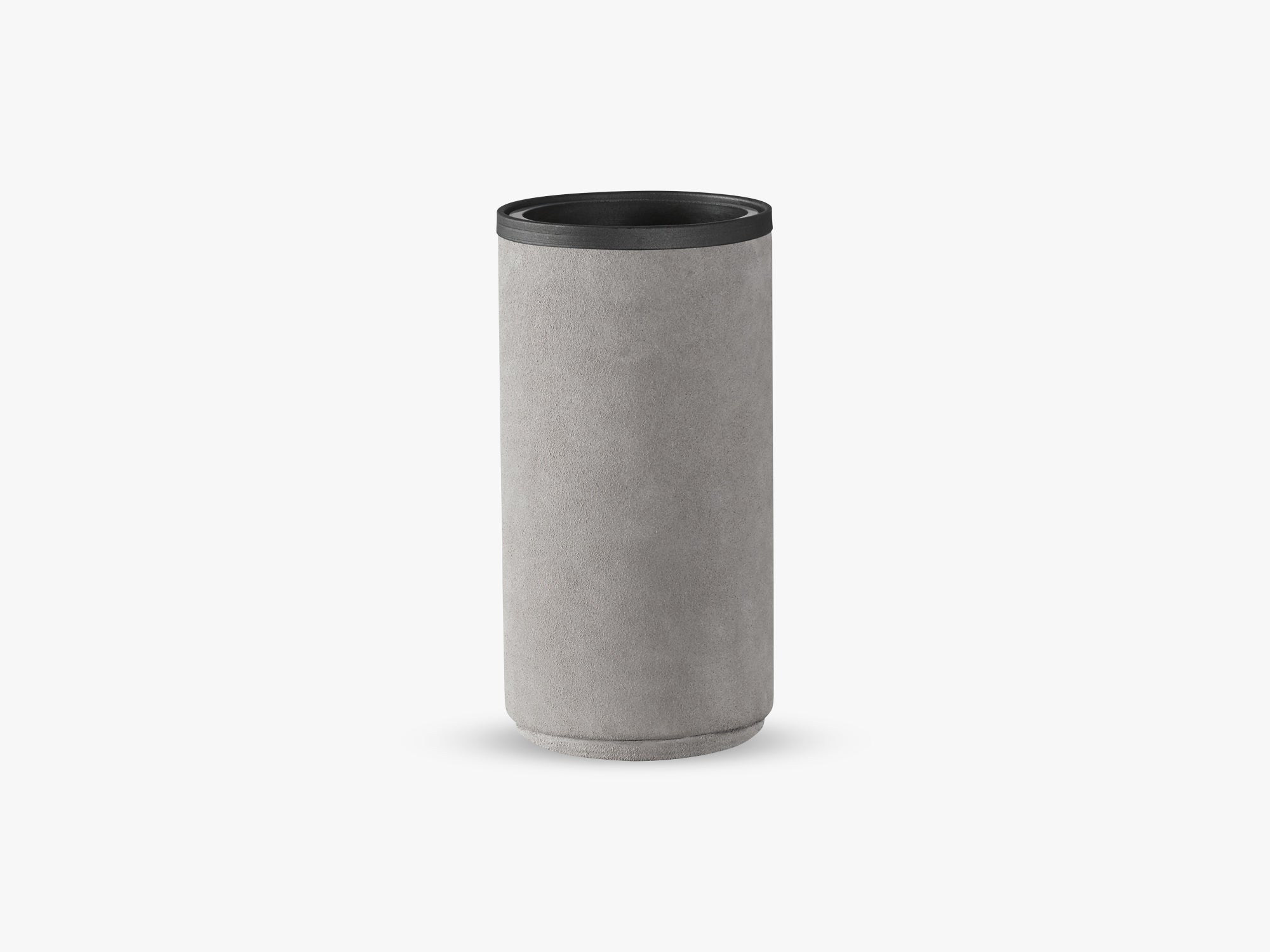 Rough Vase, Light Grey fra NTER