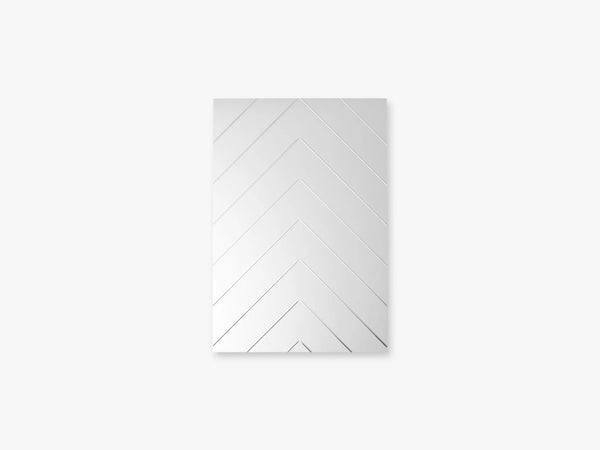 Herringbone Mirror - Small, Clear fra Specktrum
