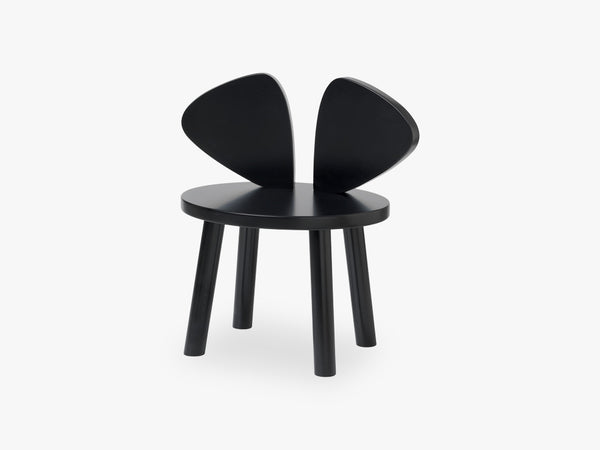 MOUSE CHAIR, BLACK fra NOFRED