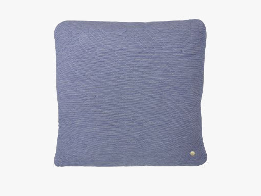 Quilt Cushion - Light Blue fra Ferm Living