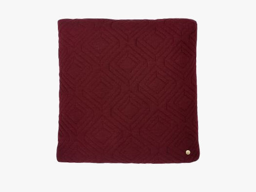 Quilt Cushion – Bordeaux
