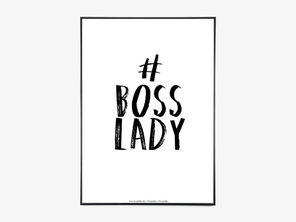 BOSS LADY SORT fra Kasia Lilja