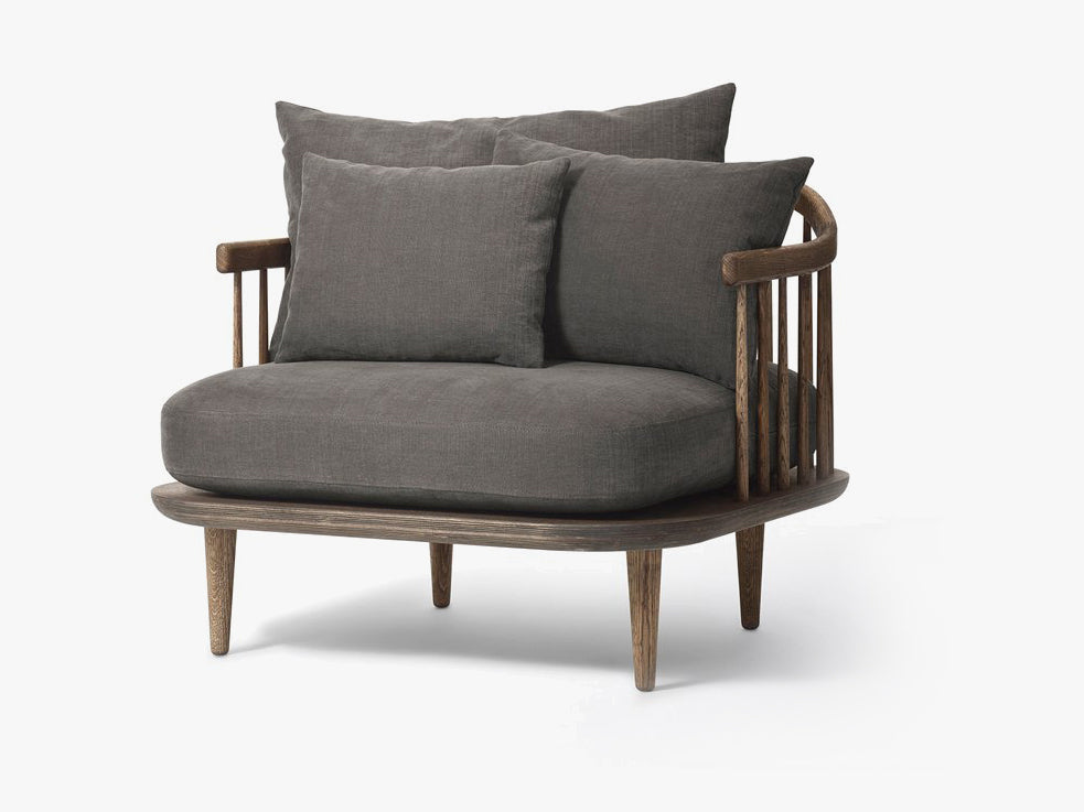 Fly Chair - SC1 - Smoked/Hot Madison 093 fra &tradition