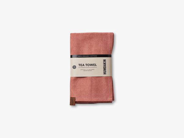 Organic Tea Towels, Dusty powder fra HUMDAKIN