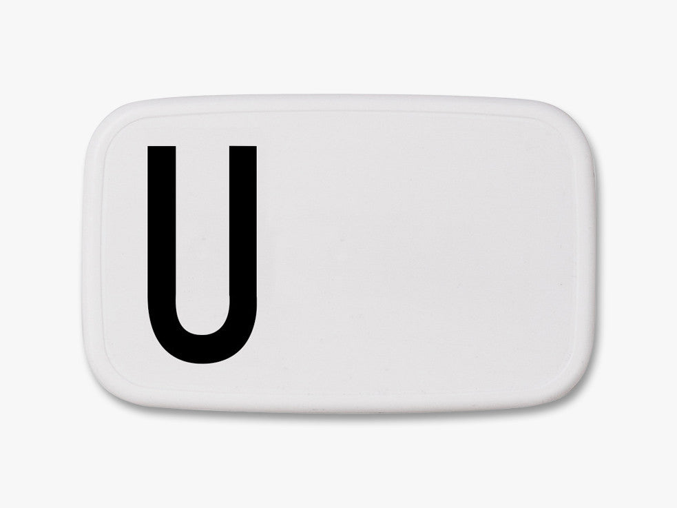 U - Personal Lunch Box fra Design Letters