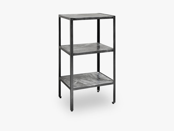MIDNIGHT display rack, black marble fra Nordal