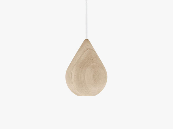 Liuku Base, Drop Wood Pendant without glass fra Mater