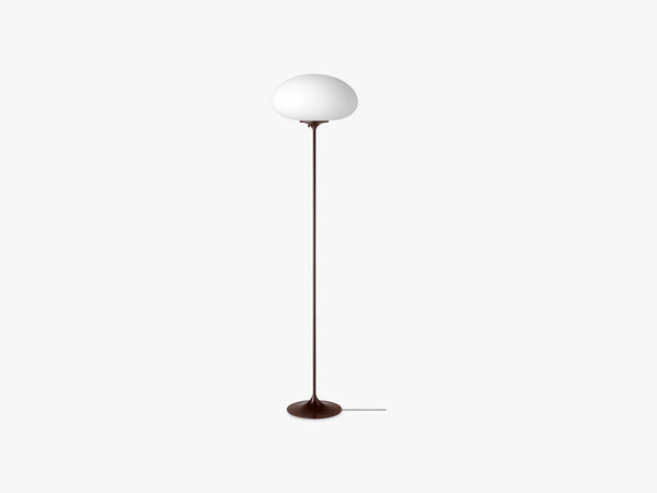 Stemlite Floor Lamp - H150, Black Red fra Gubi