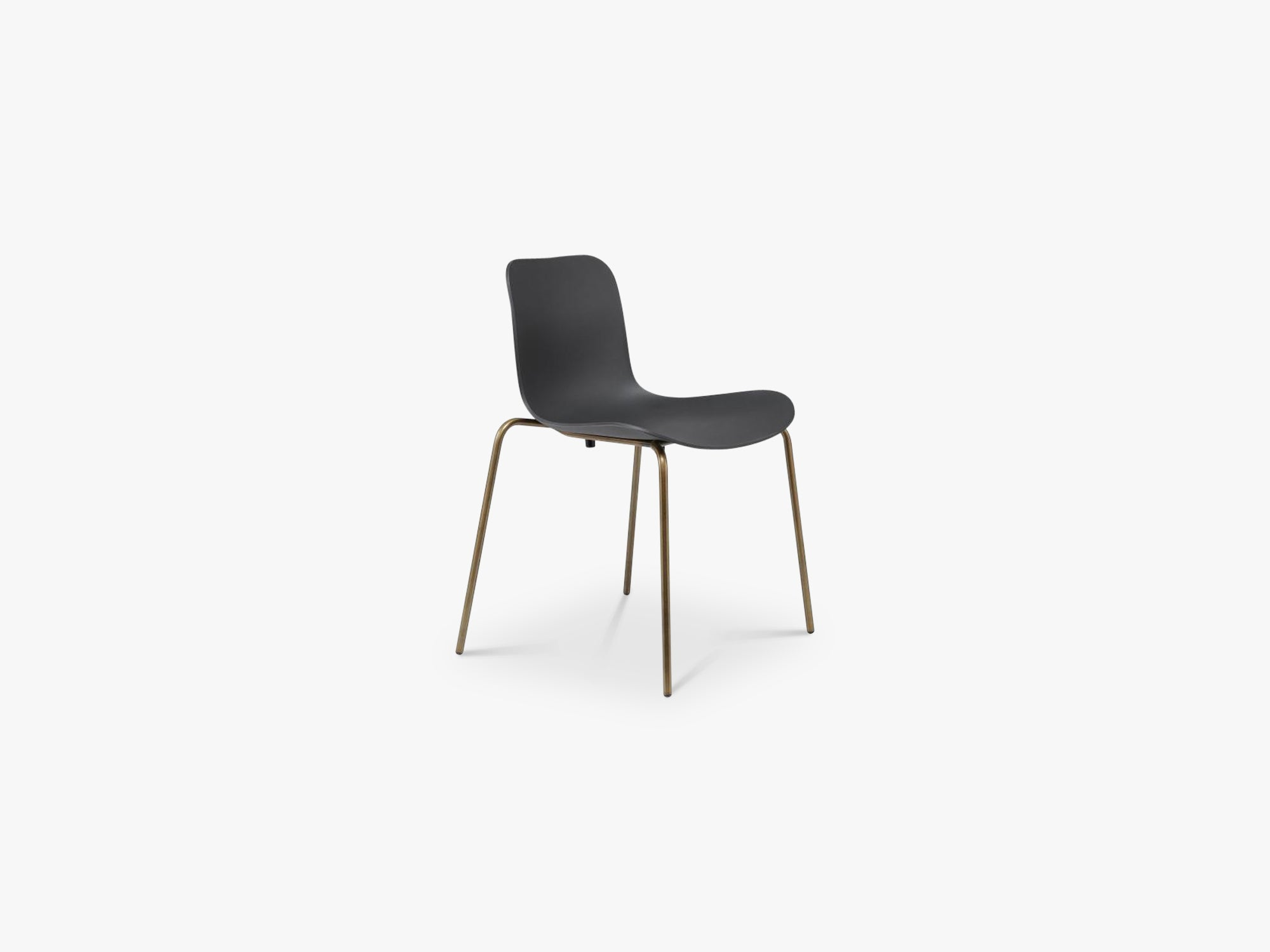 Langue Chair Steel, Brass/Anthracite Black fra NORR11