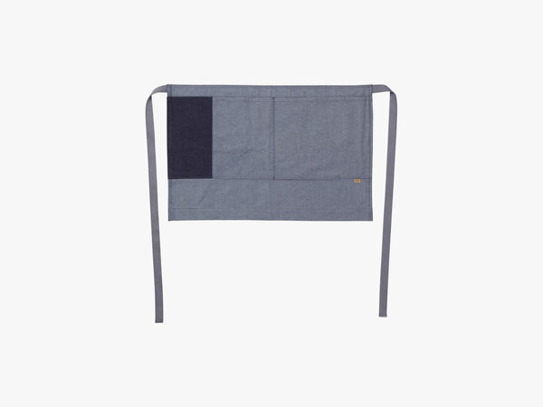 Denim Half Apron, Blue fra Ferm Living