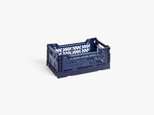 Colour Crate Small, Navy fra HAY
