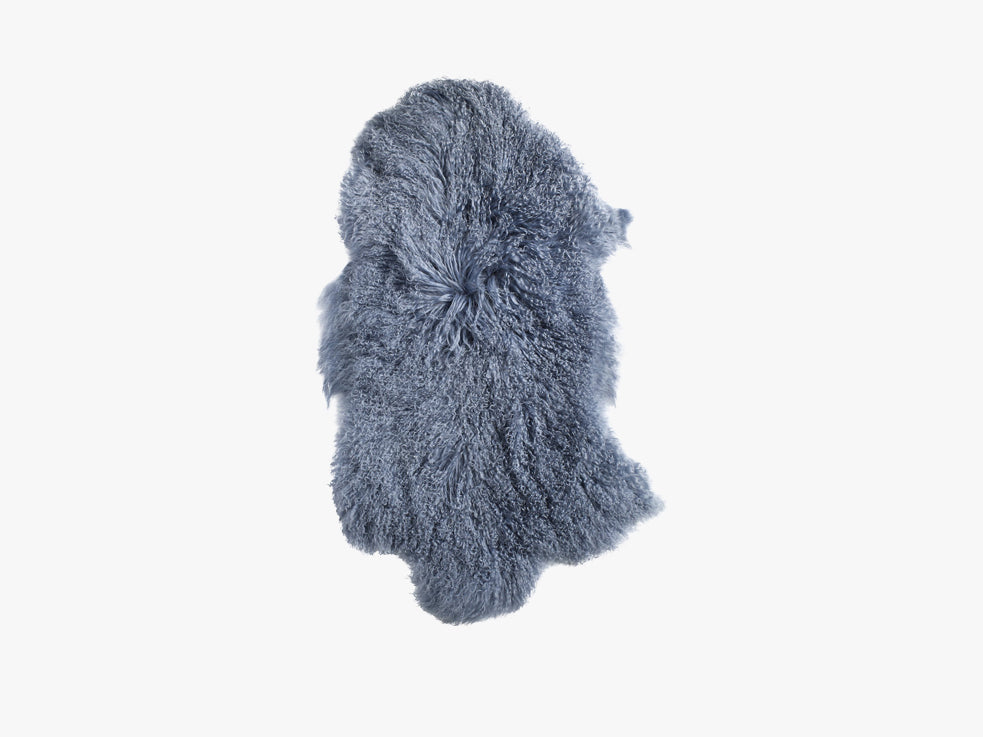 Lamb fur, light blue fra Nordal