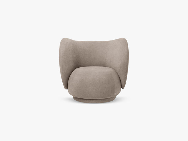 Rico Lounge Chair, Boucle - Sand fra Ferm Living