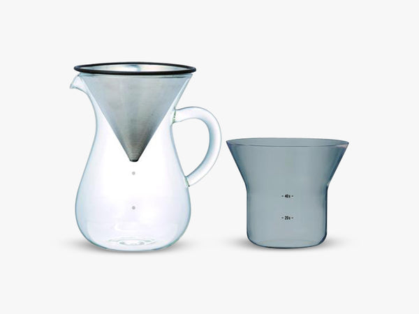 SCS-04-CC-ST coffee carafe set, 600ml stainless steel fra KINTO
