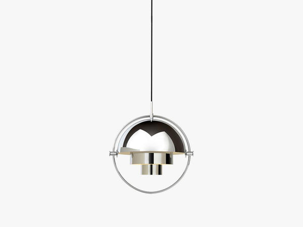 Multi-Lite Pendant - Ø36 - Crome Base, All Chrome fra GUBI