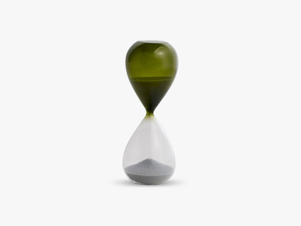 Time - Timeglas M, Grass Green fra HAY