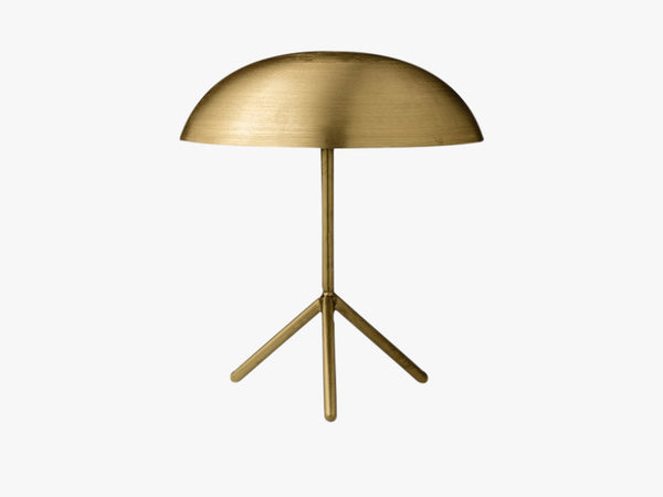 Bordlampe, Guld/Messing, Metal fra Bloomingville