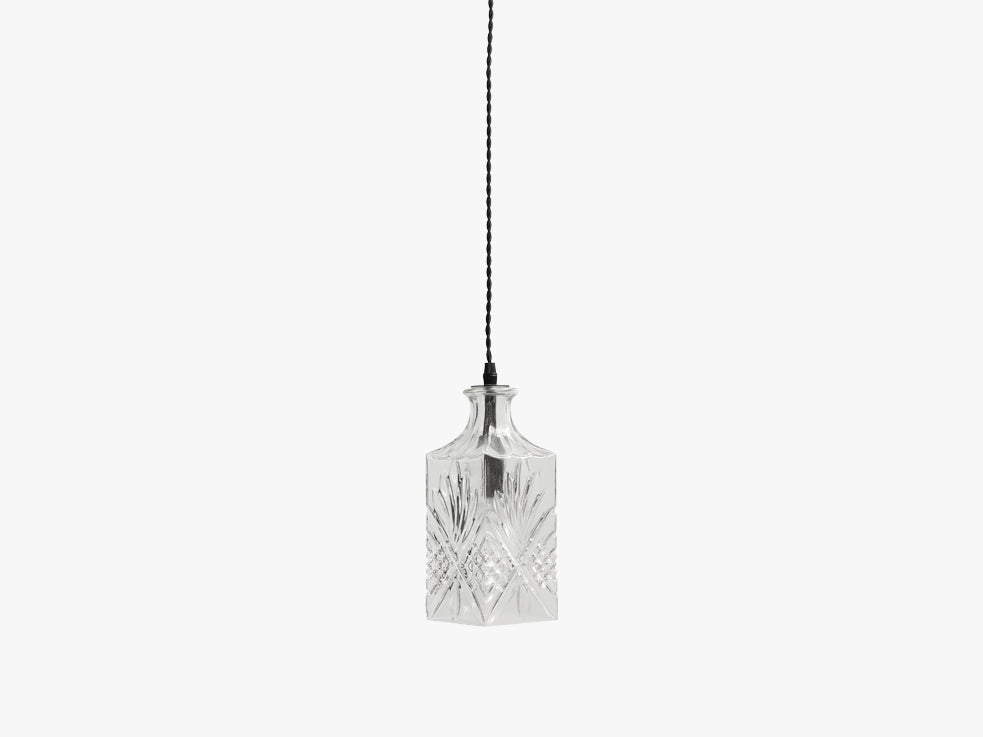 FLACON lamp, clear, square fra Nordal