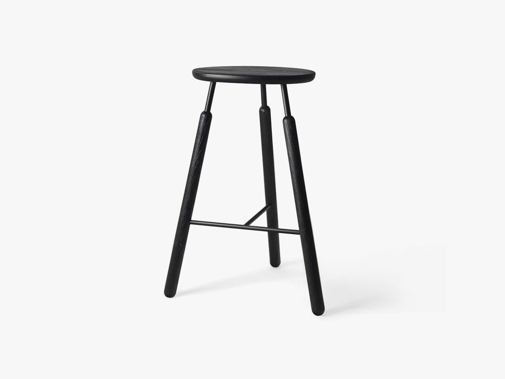 Barstool - NA4 - Black stained oak fra &tradition