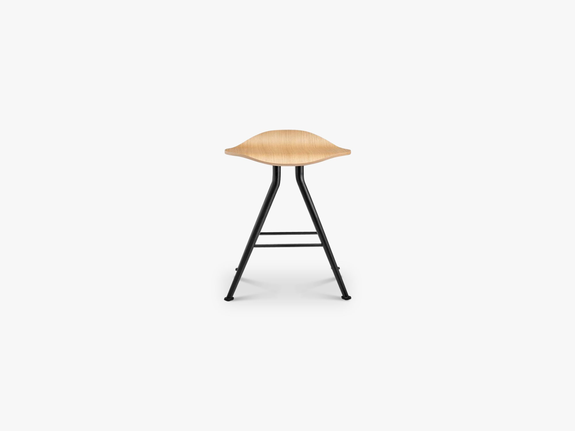 Barfly Stool, Black/Oak fra NORR11