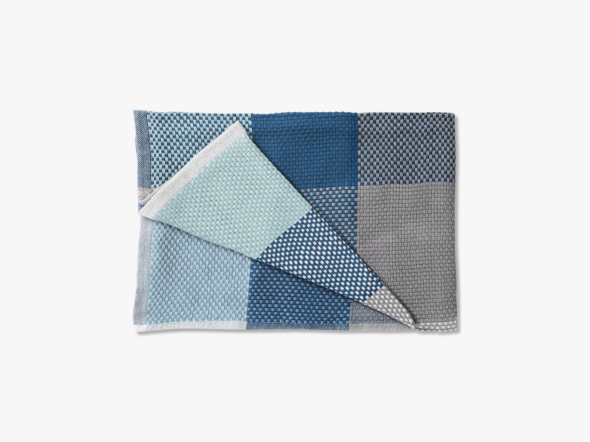 Loom Throw, Blue fra Muuto