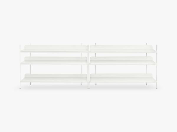 Compile Shelving System / Configuration 6, White fra Muuto