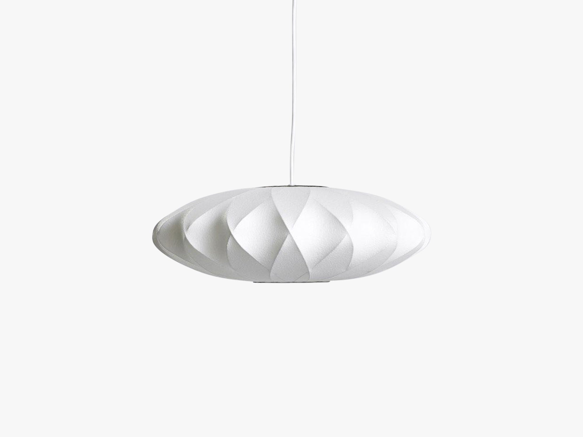 George Nelson - Saucer Crisscross Bubble Lamp, Small fra HAY