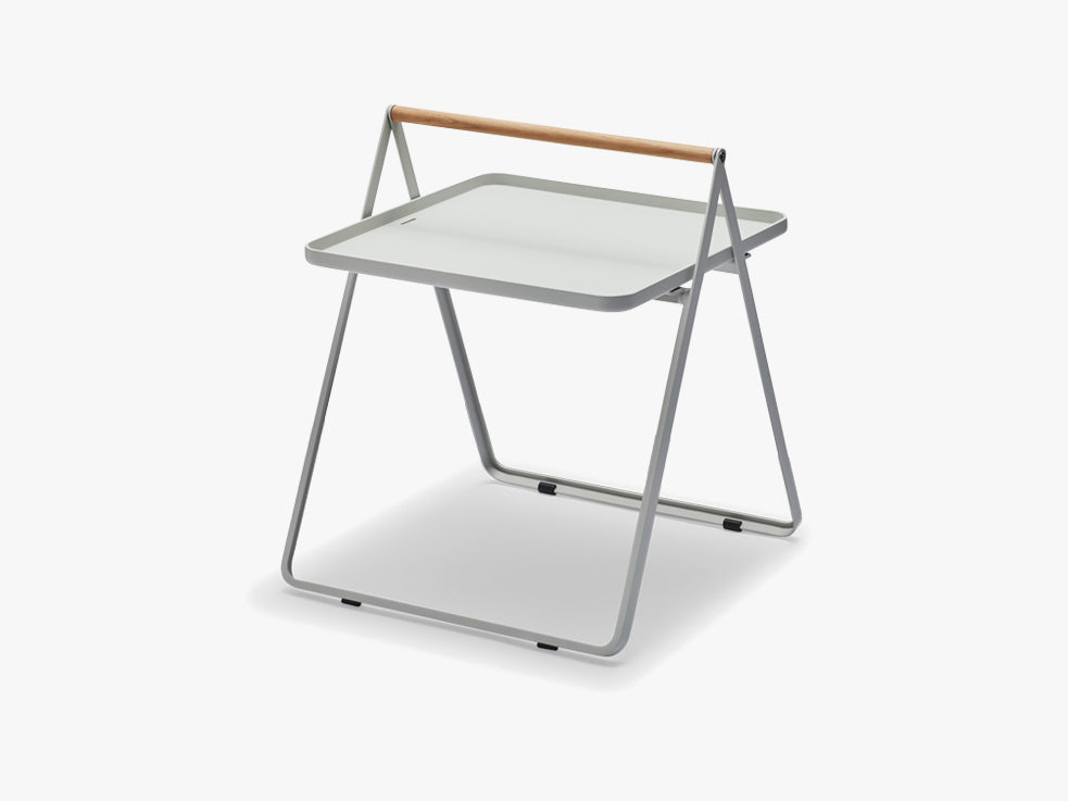 By Your Side Tray Table, Light grey fra SKAGERAK