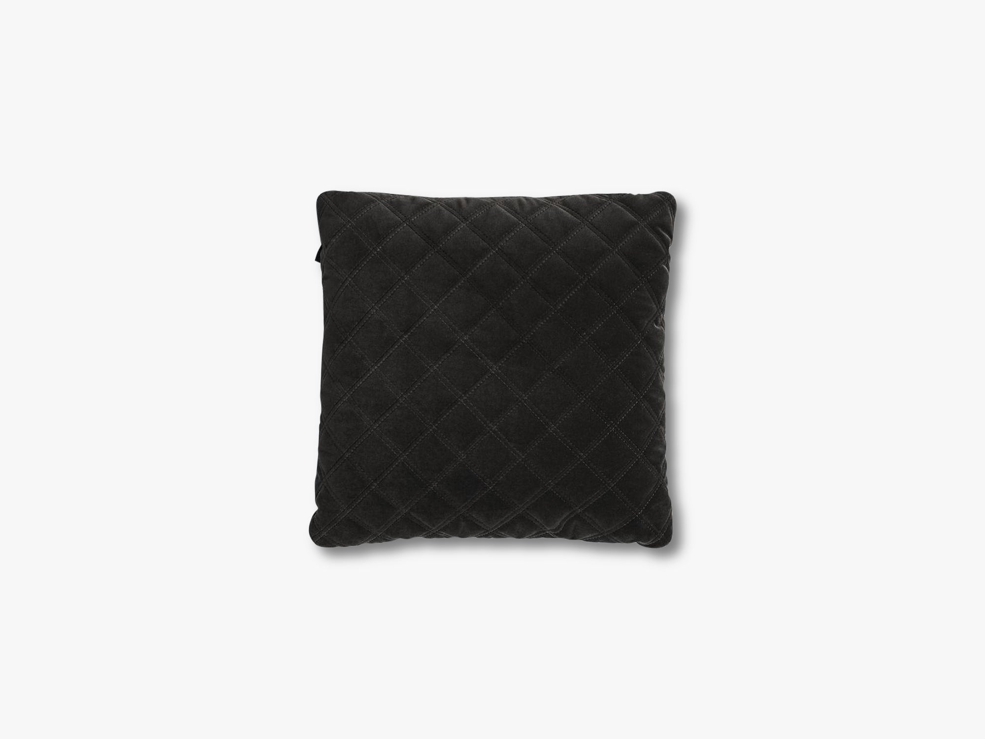 Velvet Pillow, dark grey fra Design By Us