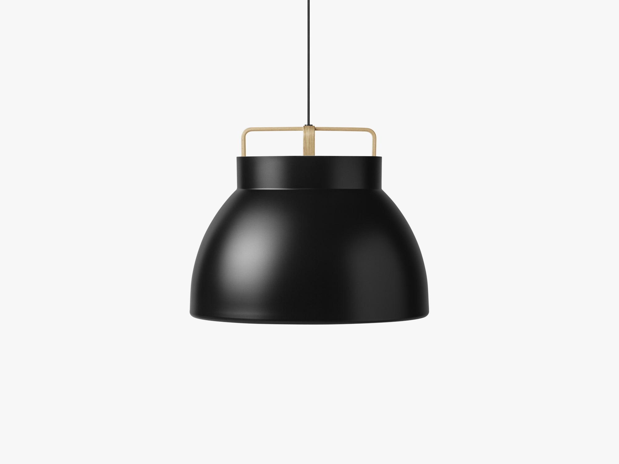 Voyage Pendant M3, Ø58 Black/Oak fra MILLION