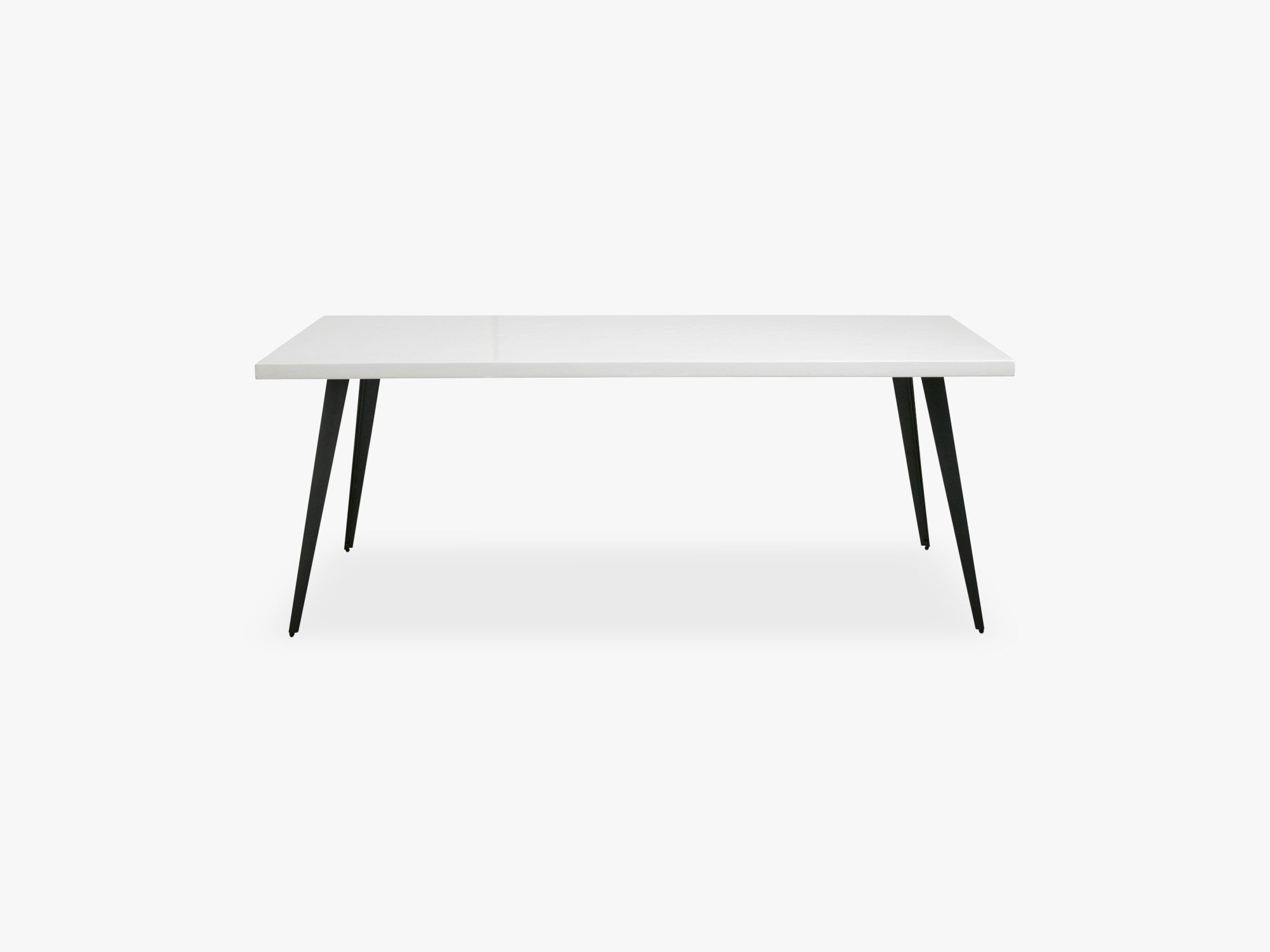 Table, white shiny herringbone, large fra Nordal