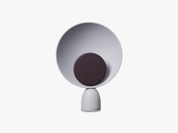 Blooper Table Lamp, Ash Grey/ Fig Purple fra Please Wait To Be Seated