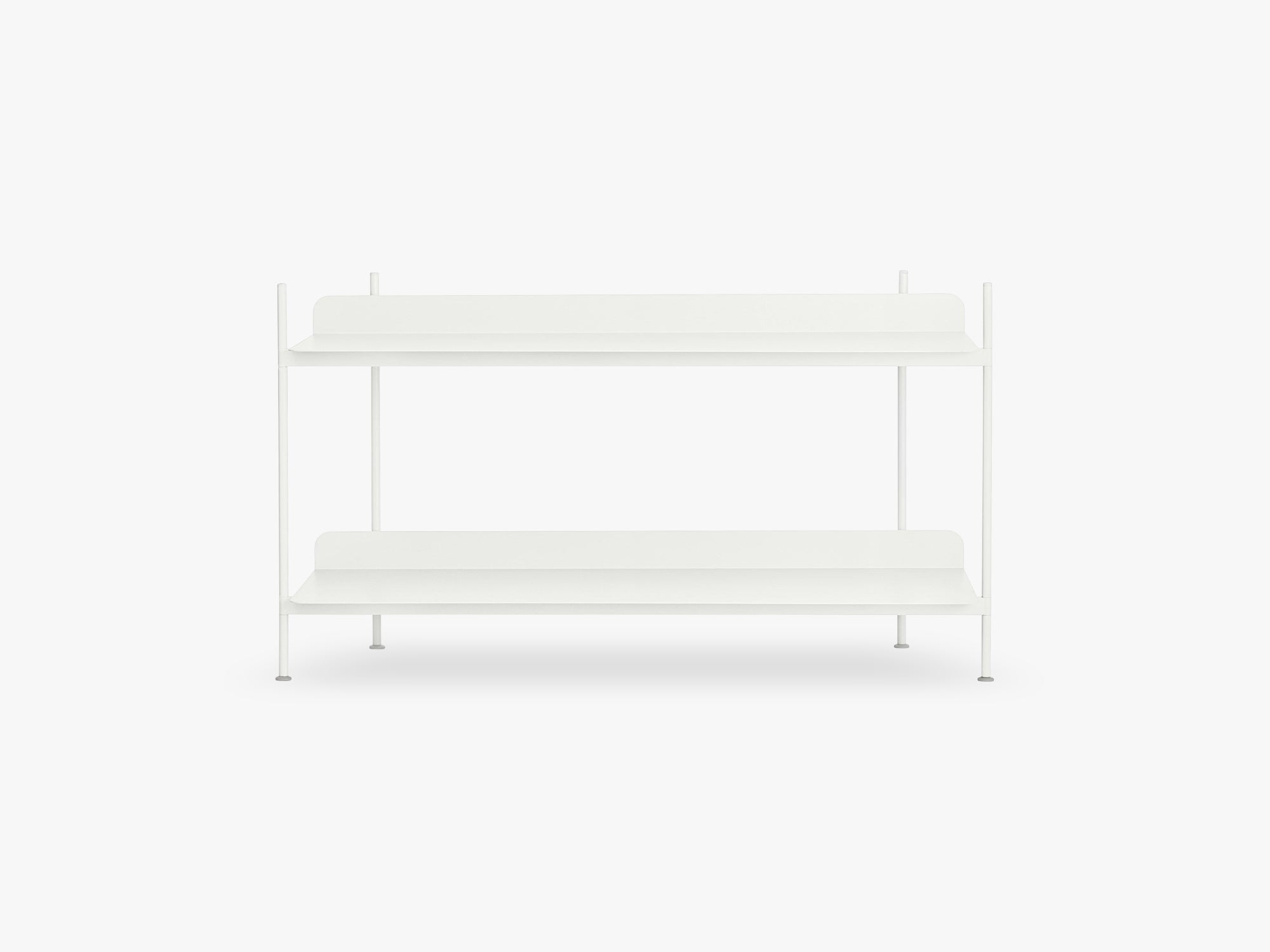 Compile Shelving System / Configuration 1, White fra Muuto